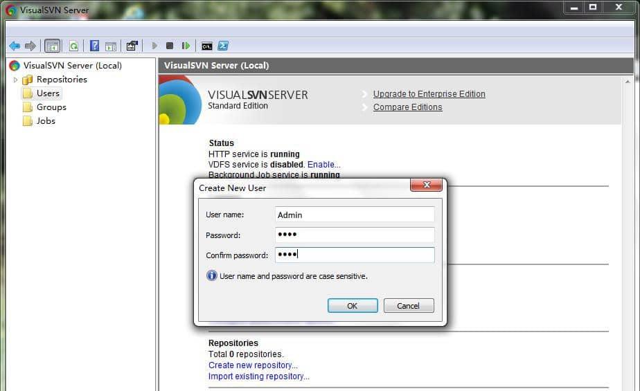VisualSVN Server 03