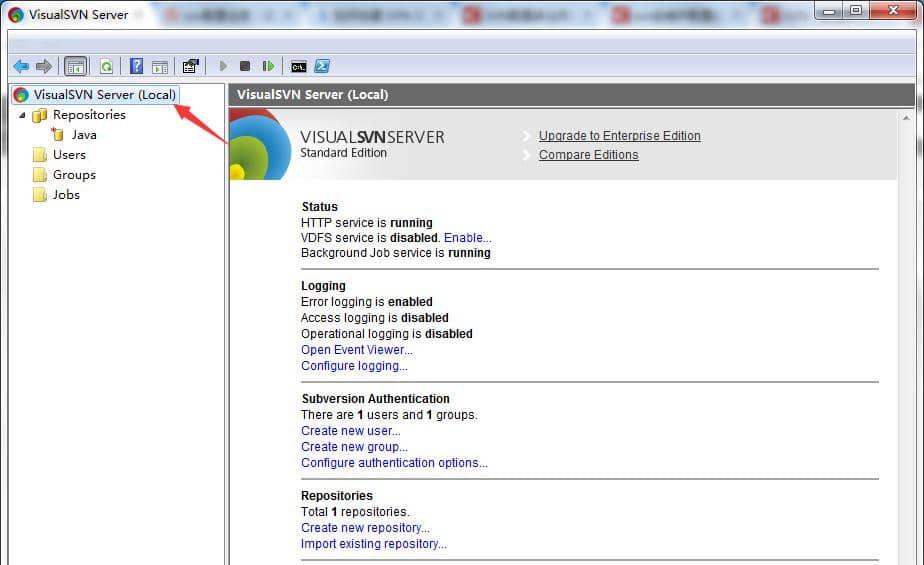 VisualSVN Server 12